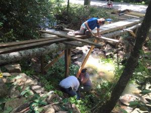Building a walkway