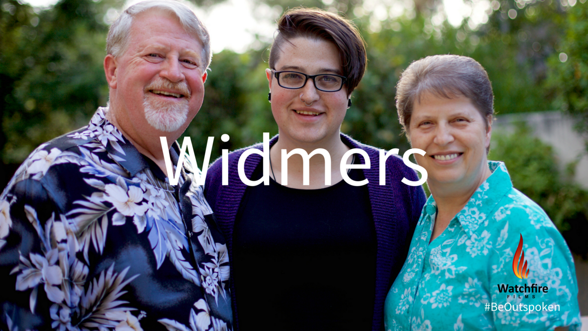 Picture of Pastor Kris, Teagan, and Debbie, titled Widmers