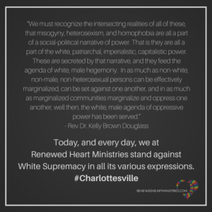 RHM Statement Against White Supremacy