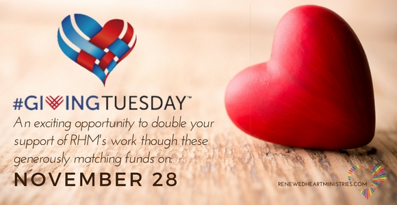 RHM's #GivingTuesday Matching Funds Graphic