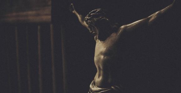 The Crucifix statue